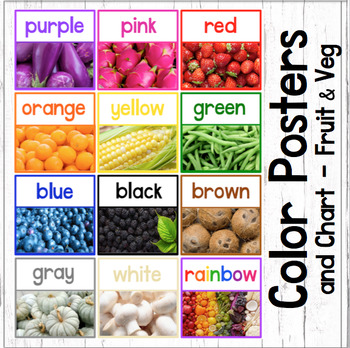 Color Posters in Two Sizes and Chart