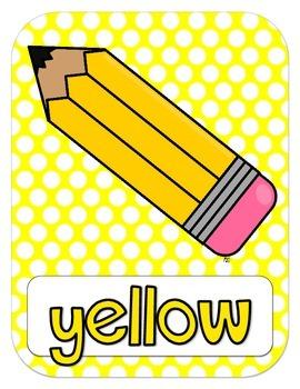 Color Posters {polka dot}