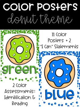 Color Posters with Color Assessments