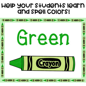 Color Posters with Crayons