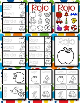 Color Posters with Fun Clipart & Real Images   Spanish