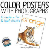 Classroom Decor - Color Posters with Photographs