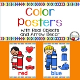 Color Posters with Real Objects and Kids
