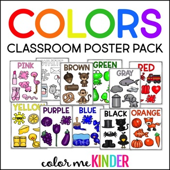 Colors Poster Pack for the Primary Classroom