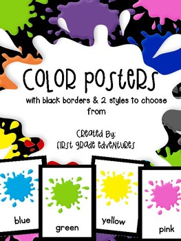 Color Posters (with black borders)
