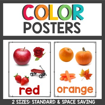 Color Posters with real images