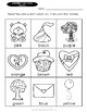 Color Practice VALENTINE'S DAY Worksheets