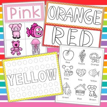 Color Preschool/Toddler Packet