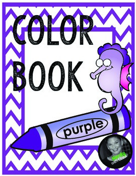 Color Purple Book