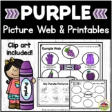 Color Purple Picture Web Activity