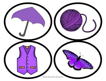 Color Purple Picture Web Activity