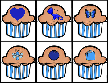 Color Puzzles - Muffins