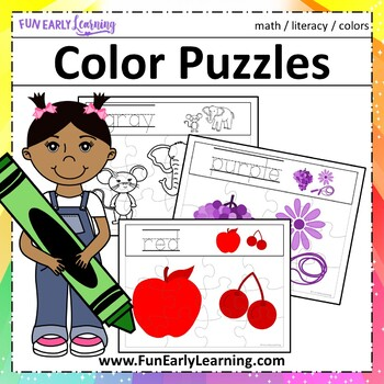Color Puzzles - A Fun Hands-on Activity