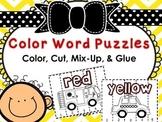 Color Puzzles (Color, Cut, & Glue)