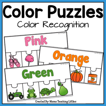 Color Puzzles - Color Identification