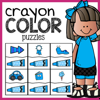 Color Puzzles - Crayons