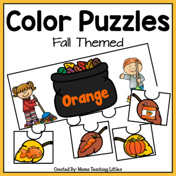 Color Puzzles - Fall Themed