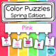 Color Sorting Work Tasks: Seasons BUNDLE (adapted with 3 levels)