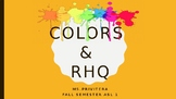 Color RHQ PowerPoint