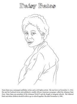 Color & Read: Civil Rights Leading Ladies