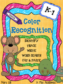 Color Words - Read - Write - Spell