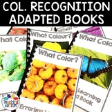 Color Recognition Adapted Books for Special Education | Errorless Learning