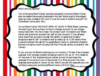 Color Recognition Boom Cards