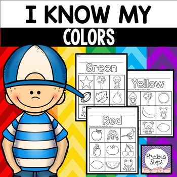 Color Recognition Coloring Sheets