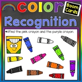 Color Recognition Digital Boom Cards (Learning Colors) Dis