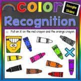 Color Recognition Digital Google Slides (Learning Colors)
