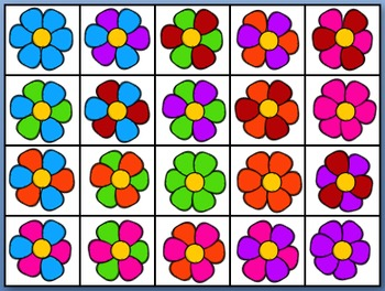 Color Recognition Flower Game
