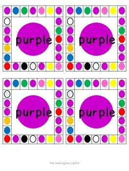 Color Recognition Hole Puncher Cards