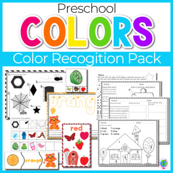 Color Recognition Math & Literacy Mega Pack for Colors and