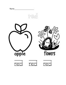 Color Recognition Practice