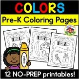 Color Recognition Printables
