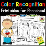 Color Recognition Printables