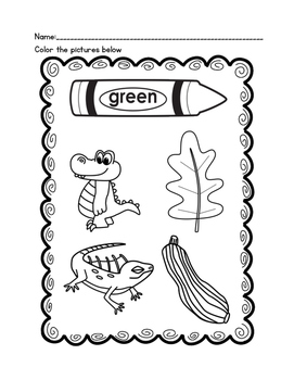 Color Recognition Printables-Freebie!