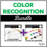 Color Recognition Printables and Activities Bundle