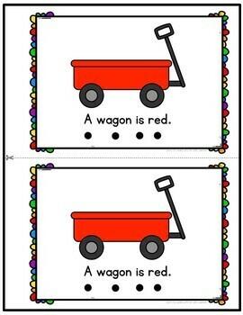 Color Red Emergent Reader