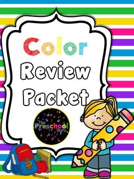 Color Review Packet *FREEBIE*