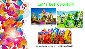 Color Run Fundraising SmartBoard Presentation
