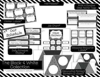 Color Scheme Decor Pack: The Black & White Collection