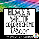 Color Scheme Decor Pack: The Black & White Collection