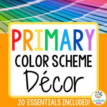 Color Scheme Decor Pack: The Bright Color Collection