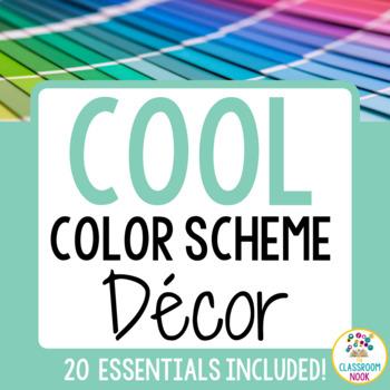 Color Scheme Decor Pack: The Calm & Cool Collection