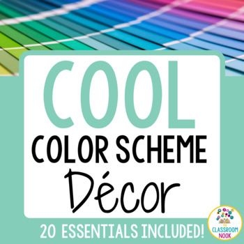 Color Scheme Decor Pack: The Calm & Cool Collection