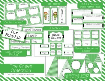 Color Scheme Decor Pack: The Green Collection