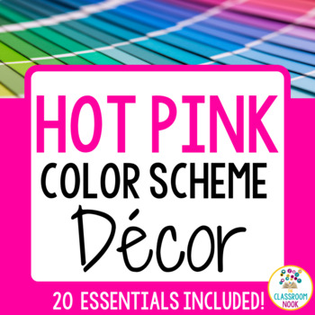 Color Scheme Decor Pack: The Hot Pink Collection