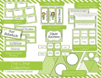 Color Scheme Decor Pack: The Lime Collection
