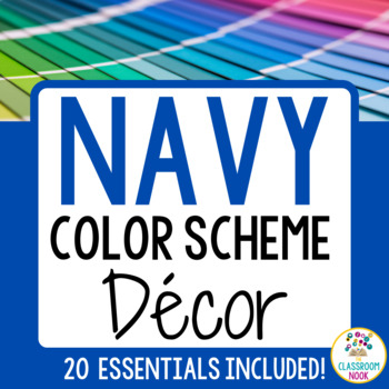 Color Scheme Decor Pack: The Navy Collection